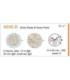 Uhrwerke Ref RONDA 5030D