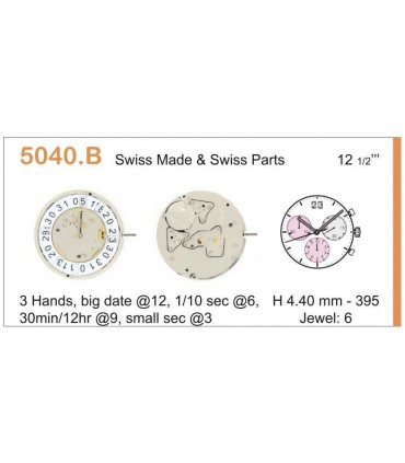 Maquinaria de reloj Ref RONDA 5040B