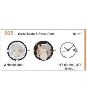 Máquina o movimiento para reloj RONDA 505D3