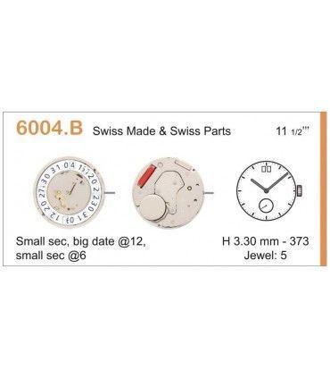 Maquinaria de reloj Ref RONDA 6004B