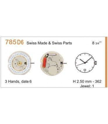 Maquinaria de reloj Ref RONDA 785D6
