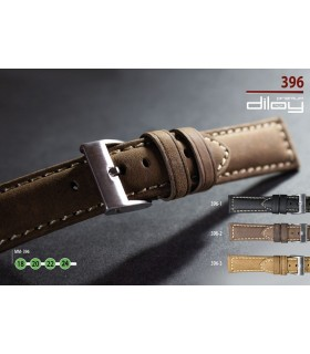 Leather watch strap, Diloy 396