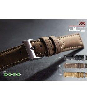 Bracelets de montre en cuir Ref 396