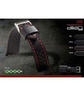 Bracelets de montre en cuir Ref 398