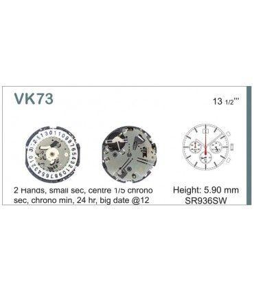 Maquina de relogio Ref SEIKO VK73