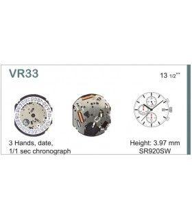 Meccanismo Orologio Ref SEIKO VR33