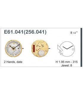 Maquinaria de reloj Ref ETAE61041