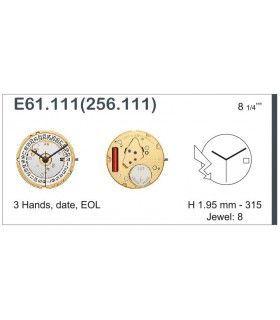 Watch Movement ETA E61.111
