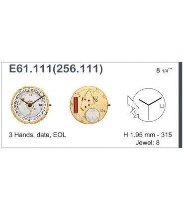 Uhrwerke Ref ETAE61111