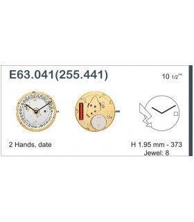 Máquina o movimiento para reloj ETA E63.041