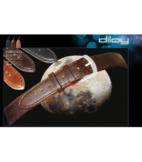 Leather watch strap, Diloy 704