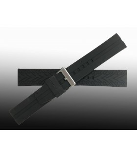 Silicone watch strap, Diloy BR03L