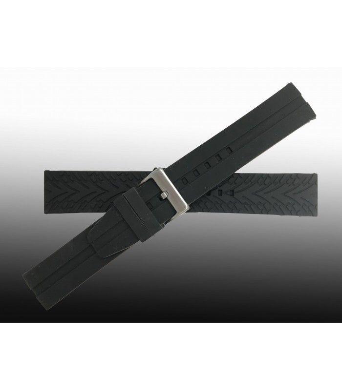Pulseiras de silicone para relógio, Diloy BR03L