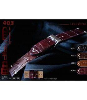 Bracelets de montre en cuir Ref 403