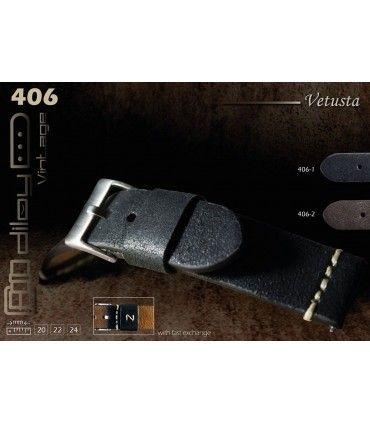 Uhrenarmband aus Leder Ref 406