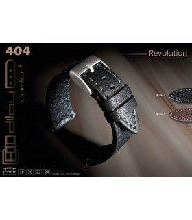Correa de piel para reloj, Diloy Revolution 404