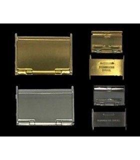 Boucles pour bracelets de montre en métal, Diloy CLASP6