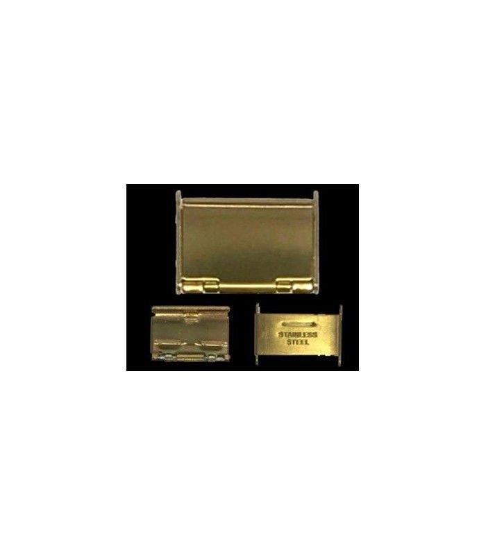 Fechos para correia metálica para relógio, Diloy CLASP6