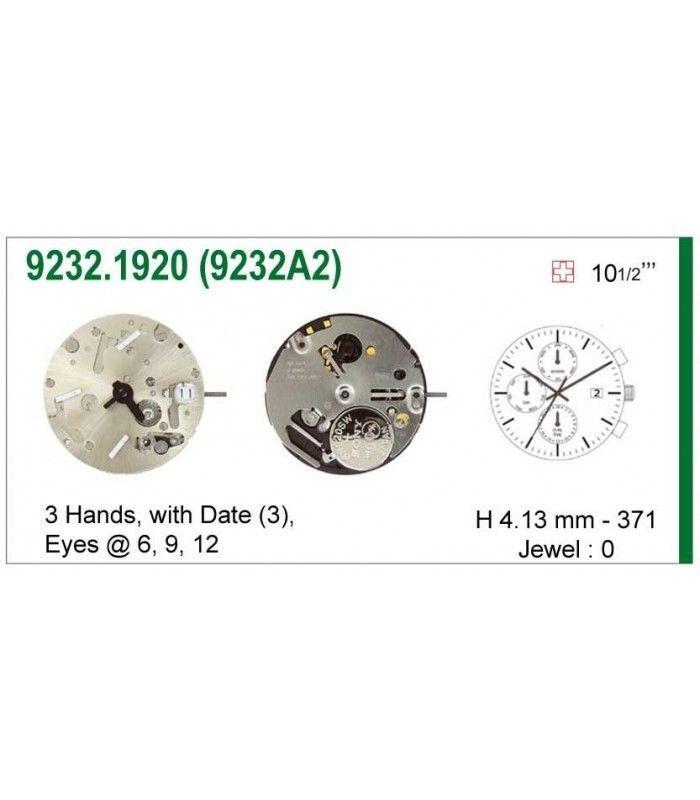 Uhrwerke, ISA 9232A2