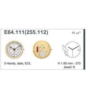 Máquina o movimiento para reloj ETA E64.111