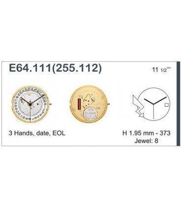 Movimento per orologi ETA E64.111