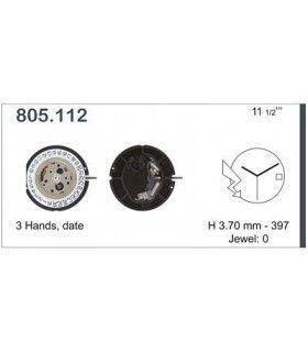 Máquina o movimiento para reloj ETA 805.112