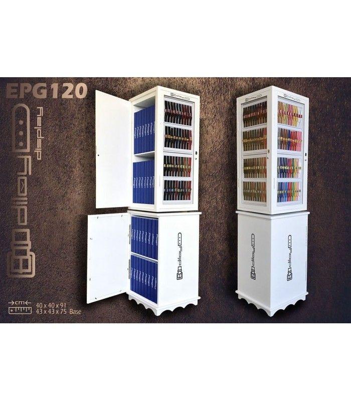 Display para pulseiras de relógio EPG120-22