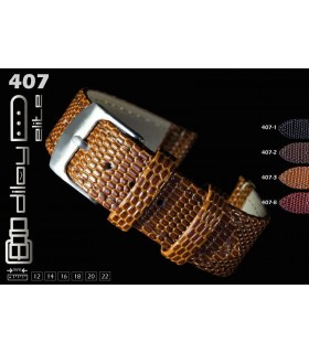 Leather watch strap, Diloy 407 Komodo