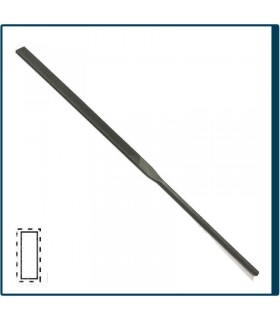 Hand Needle file 160mm, cut 2 for jewelry, costume jewelery and crafts in general. Diloytools LI.C121