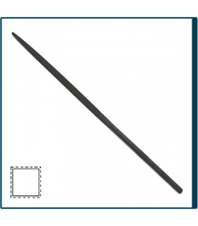 Square Needle file 160mm, cut 2 for jewelry, costume jewelery and crafts in general. Diloytools LI.C125