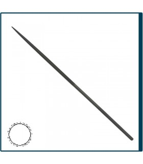 Round Needle file 160mm, cut 2 for jewelry, costume jewelery and crafts in general. Diloytools LI.C126
