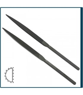 FILE HANDLE HALF ROUND for jewelry, costume jewelery and crafts in general. Diloytools LI.F523