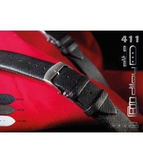 Leather watch strap, Diloy 411 - Montserrat