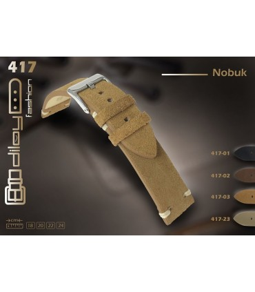 Leather watch straps Ref 417
