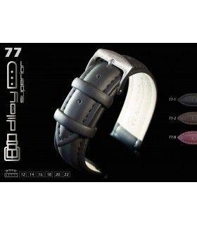 Correa de Reloj de piel engrasada Diloy 77