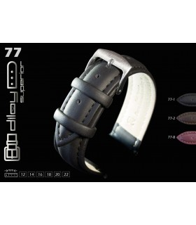 Pulseira de relógio de couro oleado Diloy 77