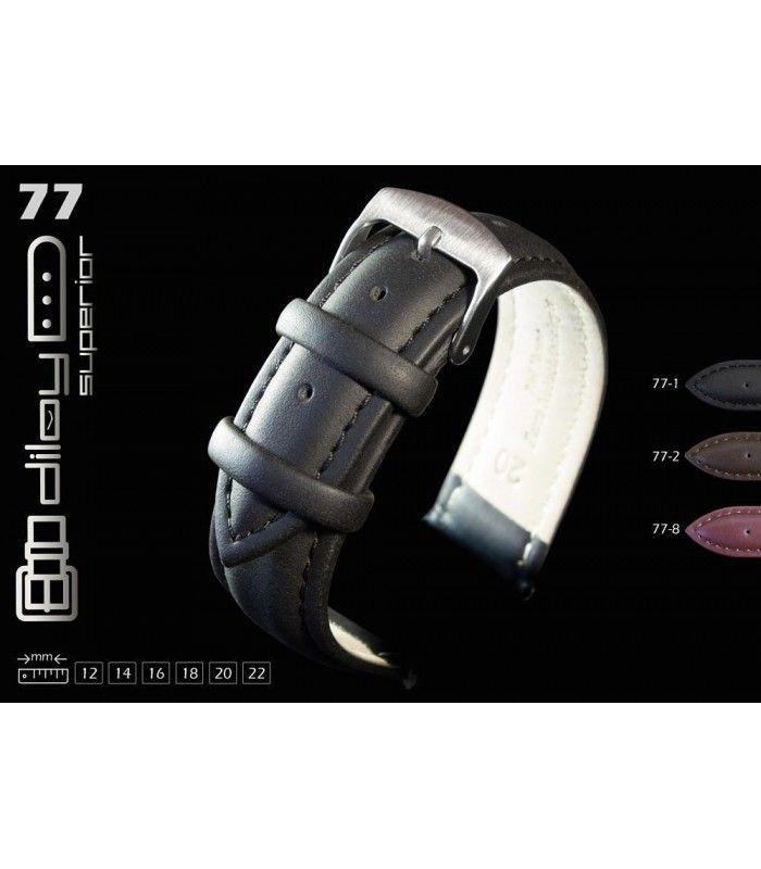 Bracelet de montre en cuir huilé Diloy 77