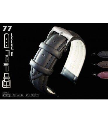Pulseiras de relogio de couro Ref 77
