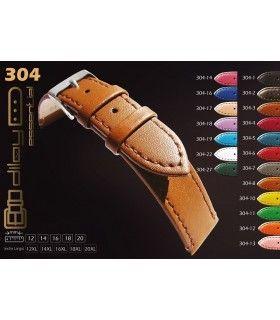 Correa de reloj de piel Diloy 304