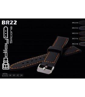 Bracelets pour montres en silicone, Diloy BR22