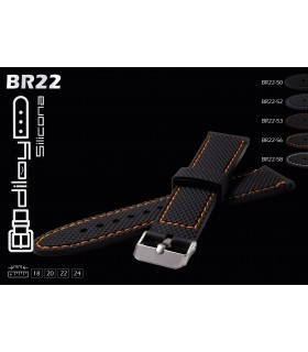 Pulseiras de silicone para relógio, Diloy BR22