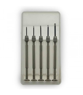 Screwdriver Set DES.36 for watchmakers, jewelers, goldsmiths and artisans.