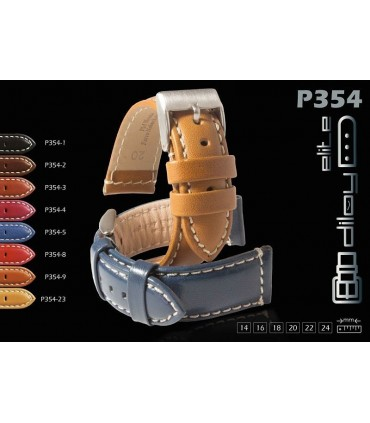 Leather watch straps Ref P354