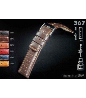 Bracelets de montre en cuir Ref 367