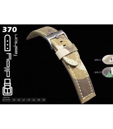 Cinturino orologio in pelle Ref 370