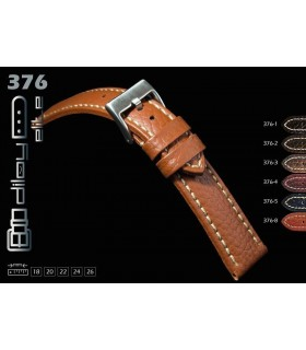 Leather watch strap, Diloy 376