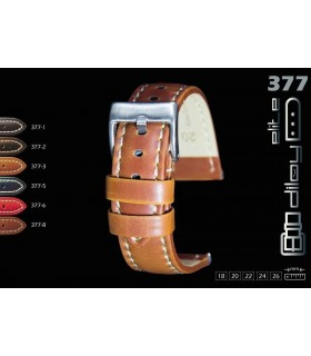 Leather watch strap, Diloy 377