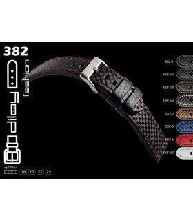 Bracelet pour montre en cuir, Diloy 382