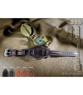 Cinturino orologio in pelle Ref 386
