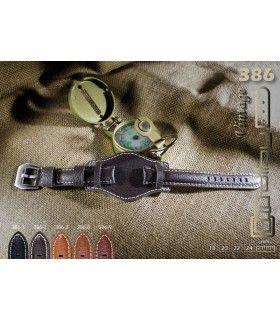 Bracelet pour montre en cuir, Diloy 386